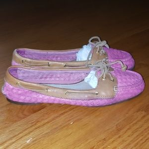 Sperry pink Loafers